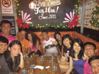 Drunk 99 at Bricks and Barrels Ipoh - Photo credit Teh