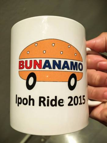 Ipoh Ride 2015 mug - Photo credit Fendy