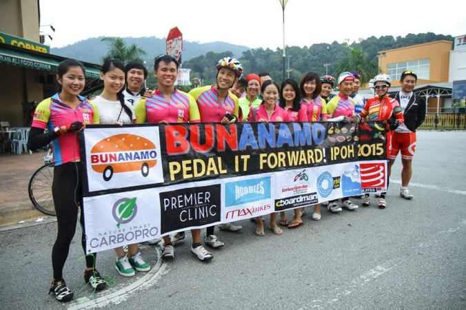 Meeting point at Rawang - photo credit Fendy