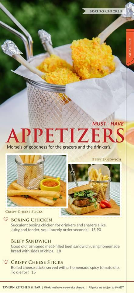 Appetizer - Photo credit Tavern Kitchen and Bar