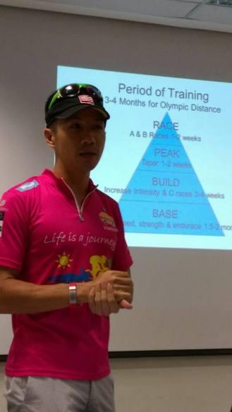 Conducting tri clinic for Kia Kaha - photo credit Pui Yee