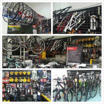 Interior of Orbit Cycle, yes they carry loads of stuffs