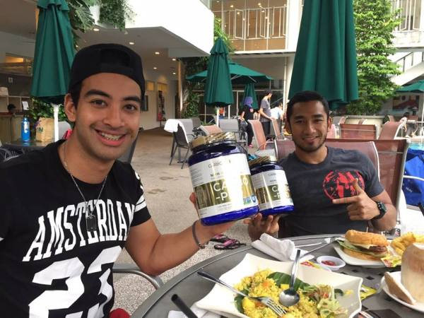 Nabil Jeffri Malaysia Pro F3 driver uses CarboPro