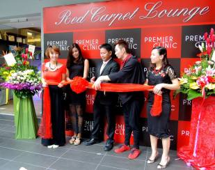 Official opening ceremony of Premier Clinic - Photo Credit Dr. Chen