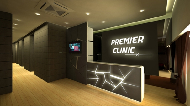 Premier clinic's elegant interior - Photo credit Premier Clinic