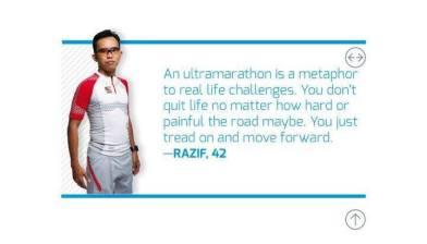 Razif Yahya, Malaysia Ultramarathor powered by CarboPro