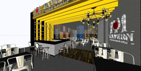 Tavern Kitchen and Bar interior design - Photo credit Tavern Kitchen and Bar